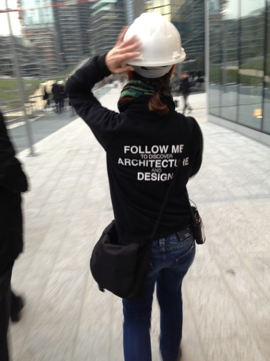 ...following our guide at Porta Nuova