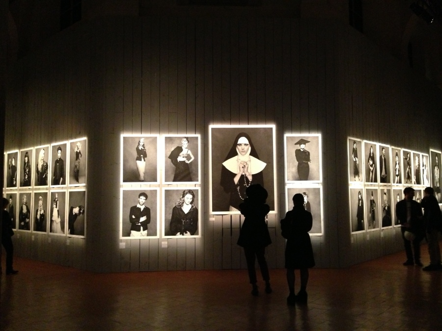 Karl Lagerfeld's exhibition The Little Black Jacket is on show until April 20 in Milano