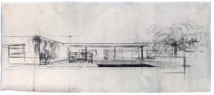 Architect and Friends Blog Mies van der Rohe Sketch