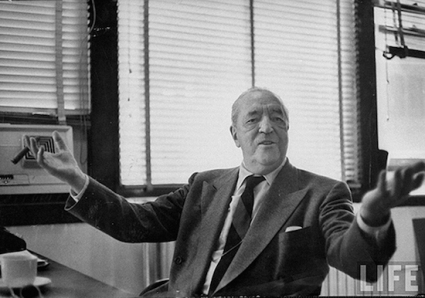 Architect and Friends Mies van der Rohe LIFE