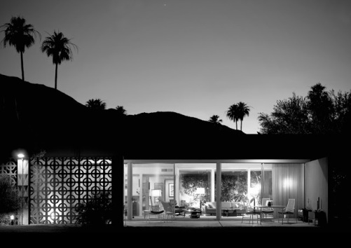 Concrete screen blocks Palm Springs
