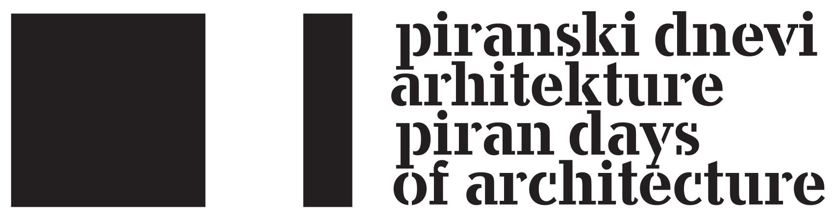 Piran Days of Architecture Logo